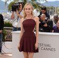Diane Kruger in Versus and Jimy Choo