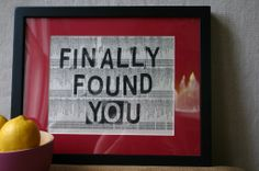 Previous pinner said: Words with Friends- and Family : )To make this, just gently pull your page from the phone book and stamp with a message. Frames and mats can be found inexpensively in a lot of places. Upcycled Crafts, Diy Home Crafts, Easy Diy Crafts, Crafts To Do, Paper Crafts, Cute Valentines Day Ideas, Book Background, Phone Books, Words With Friends