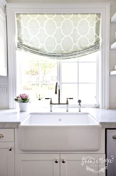 Everything You Want to Know About Roman Shades - 6th Street Design School | Kirsten Krason Interiors