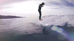 Longboard Surfing Mr Rodgers | Sunny Californian Hang Ten