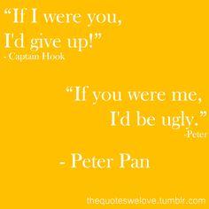 Oh, Peter Pan...