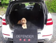 This car boot defender by Pet Rebellion is perfect for keeping your car boot free from muddy paws and protecting the bumper and paintwork from scratches.
