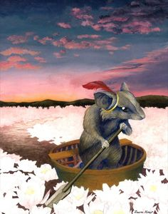 Reepicheep's Last Voyage From Narnia by lauraguzzo on Etsy, $15.00