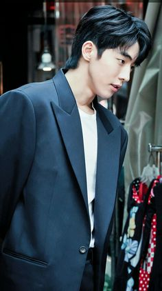 Habaek fashion Asian Actors, Korean Actors, Nam Joo Hyuk Cute, Nam Joo Hyuk Wallpaper, Jong Hyuk, Bride Of The Water God, Handsome Asian Men, Nam Joohyuk, Lee Sung Kyung