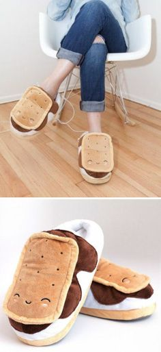 Snuggly S'More Usb Footwarmers