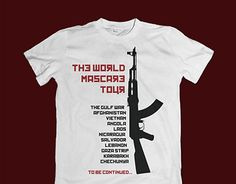 "Check out new work on my @Behance portfolio: ""The World Mascare Tour - T-shirt"" http://be.net/gallery/52127593/The-World-Mascare-Tour-T-shirt"