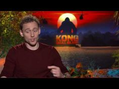 Tom Hiddleston Raw Interview Kong Skull Island - YouTube