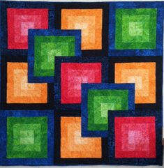 Quilt illusions | Wish you could make a larger size? Here it is! Click here for the ...