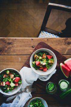Vattenmelon och halloumi är två saker jag inte kan få nog av på sommaren.Kombinerat i en sallad ska vi inte ens tala om! Så vansinnigt gott och läskande. Olika varianter på den här Vattenmelon &a…
