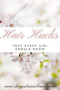 hacks every girl should know curls Hair Hacks That Every Girl Should Know Makeup Hacks Every Girl Should Know, Static Hair, Skin Care Tools, Loose Hairstyles, Ingrown Hair, Hair Tools, Beauty Hacks, Beauty Tips