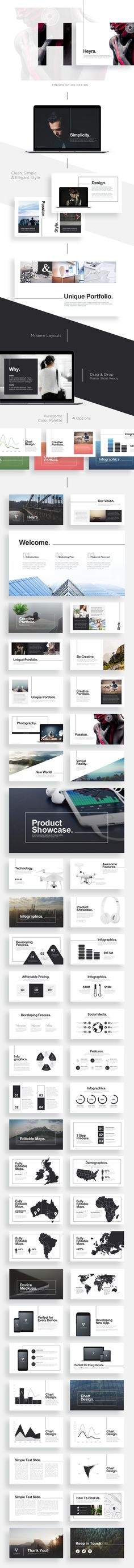 Buy Heyra Powerpoint Template by Levato on GraphicRiver. Heyra Powerpoint Template Modern and clean PowerPoint presentation template that designed based on Best Presentation . Powerpoint Slide Designs, Powerpoint Presentation Templates, Ppt Template, Powerpoint Presentations, Template Power Point, Presentation Deck, Keynote Design, Information Architecture, Layout Design