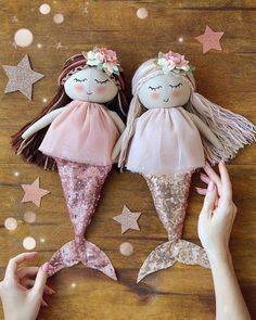 Doll Sewing Patterns, Mermaid Tails, Vintage Cards, Harajuku, I Shop, Patches, Handmade Dolls, Photo And Video, Toys