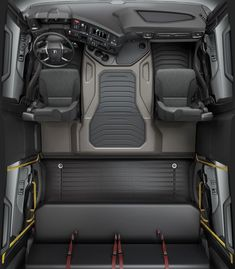 Hummer Interior, Truck Interior, Car Interior Design, Big Rig Trucks, Rc Trucks, Custom Trucks, Truck Store, Model Truck Kits, Lexus Lx570