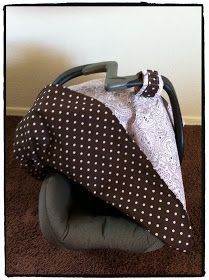 Mo Momma: Sewing: DIY Car Seat Cover Canopy Tutorial baby shower gifts