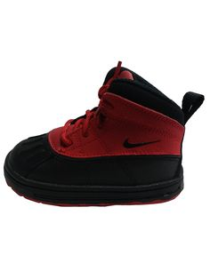 24ce495432d NIKE WOODSIDE 2 HIGH (TD) 524878-601 (7c). PROFILE  CLASSIC BOOT DESIGN.  MIDSOLE  RUBBER WITH FULL-LENGTH INJECTED PHYLON MIDSOLE.