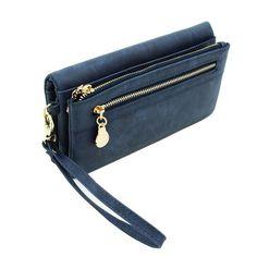 Long Dull Polish PU Leather Wallet – uShopnow store
