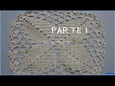 Cuadro Tejido a Crochet # 21 para Colchas y Cojines - YouTube