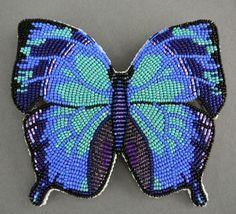 native+American+beadwork | Native American Beadwork jewelry by Todd Lonedog Bordeaux ... | Beadi ...
