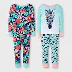Sleepwear Girls' Clothing (newborn-5t) Tireless Carter's Girls Size 3t Purple White Sleeveless Top Capri Pants Pajamas Set