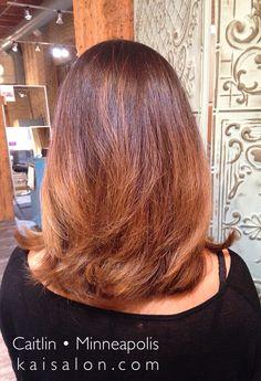 #balyage #hair #brunettehair #ombre #somebre #aveda #avedacolor #themoment #northloop #nolo #shorthair #mediumhair