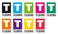 Het officiële logo van de Gemeente Tilburg vanaf 2011. De 'Regenboog' variant.
