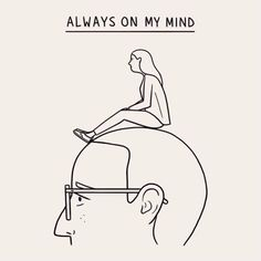 Matt Blease is a visual pun master who turns common expressions into comedic minimalist illustrations. Art And Illustration, People Illustration, Matt Blease, Always On My Mind, Grafik Design, Line Art, Art Drawings, Art Photography, Web Design