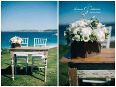 Tiffany Chairs by Albany Party Hire.  Florals by Lush Floral Designs. At Maitraya Luxury Retreat.