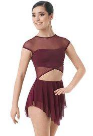 Two Tone Handkerchief Hem Dance Dress   Balera™