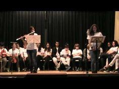 Fragmento del recital poético-musical realizado en el IES Padre Isla el día 29 de febrero de 2012. Poema «Amor» de Fran Alonso. Ariadna Morán (flauta travesera) / Lucía González (recitado).