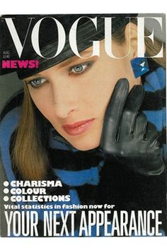 Fashion Magazine Covers - Online Archive for Women (Vogue.com UK) AUGUST 1983