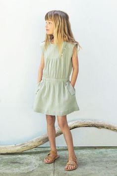 Milla Look 10 Tween Fashion, Toddler Fashion, Moda Kids, Casual Dresses, Girls Dresses, Zara, Sewing Patterns For Kids, Inspiration Mode, Glamour