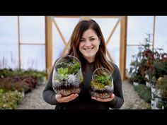 Bathroom plants can brighten up even a dark, windowless, low light bathroom. Find out which houseplants, upright, color and how to use them [LEARN MORE] Large Terrarium, How To Make Terrariums, Terrarium Plants, Succulent Terrarium, Bottle Terrarium, Terrarium Containers, Glass Containers, Calathea, Air Plants