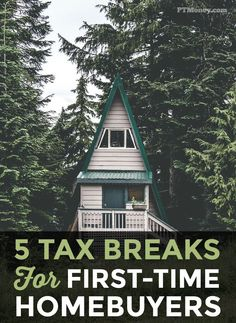 5 Tax Breaks for First Time Homebuyers. These tax breaks may be the motivation you need to achieve your dream of purchasing your first home. First Time Home Buyers, First Home, Ways To Save Money, Money Saving Tips, Money Tips, Income Tax Preparation, Get Out Of Debt, Frugal Living Tips, Home Ownership