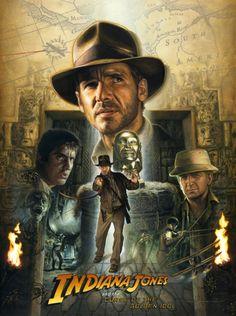 Indiana Jones (Raiders of the Lost Ark) by Jerry Vanderstelt