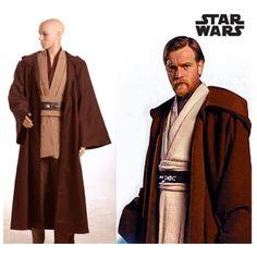 star wars obi wan kenobi tunic jedi knight hooded adult robe cloack whole set halloween