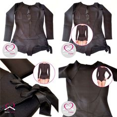 Top Quality Neoprene Ladies Wetsuit Black Long Sleeve Cheeky Cut Bottom Size S,M Bikini Swimwear, Bikinis, Womens Wetsuit, Online Marketplace, Motorcycle Jacket, Swimming, Store, Lady, Beach