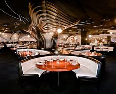 mmmm! STK inside of the Cosmopolitan is a sexy steakhouse that features a DJ booth as the focal point of the room. You can't beat good music and good food!
