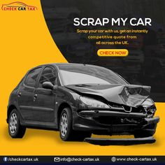 Our Company check car tax takes care of everything. You can now #scrap your #car without any tension by just using our fee-free comparison #service. #scrapymycar #Scrapacar #freecarservices #checkcartax