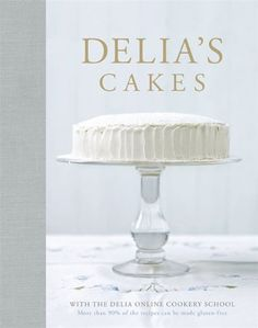 Delia's Cakes - Why not visit Delia Online Cookery School, where you will find free recipes and step by step demonstrations as in her book, have Delia and her team with you in your kitchen!  - http://irishcakesupplies.com/wp-content/uploads/2013/12/415tL59CVAL.jpg - #Cakes, #Delias  - http://wp.me/p2Sdif-4tB