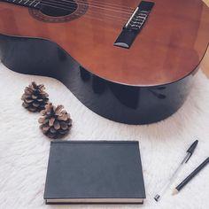 @arockchicklife on Instagram: Helllllooooo rockerzzz! Guess who's writing new music? Haha yeah I am. What are you up to? ⚡️😊 #arockchicklife #rock #rocknroll #music #musician #song #songwriter #songwriting #work #punk #metal #grunge #guitar #guitarist #notebook #lyrics #writing #writer #moleskine #working #fun #job #rockchick #alternative #alternativegirl #artistic #creative #dreamjob #blog #blogger #lifestyle #lifestyleblog #lifestyleblogger #flatlay #flatlays