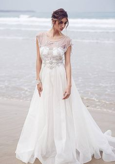 63e3dcc104c2f Beaded wedding dress from Anna Campbell s latest collection