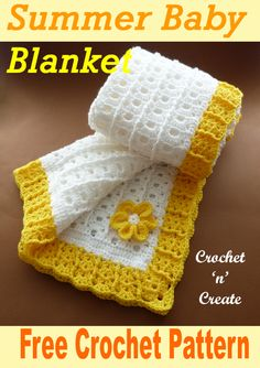 Free crochet baby summer blanket, add this easy baby blanket crochet pattern to my other patterns in this range to make a gift set. Crochet Baby Blanket Free Pattern, Baby Afghan Crochet, Free Crochet, Crochet Summer, Baby Afghans, Kids Crochet, Baby Shawl, Baby Cardigan, Summer Baby
