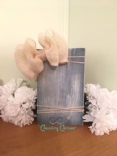 Rustic Photo Block  Photo Frame  Country by CCsCountryCorner