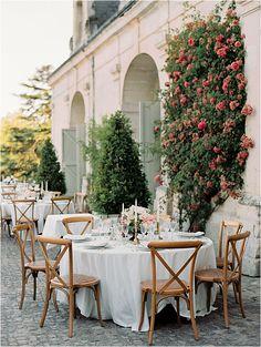 Brunch Setup   Image by Bubblerock French Wedding Style, Elegant Wedding, Reception Table, Wedding Table, Summer Events, Wedding Weekend, Event Planning, Wedding Styles, Wedding Inspiration
