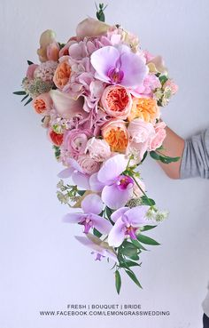 waterfall size bouquet surcharge will be applied