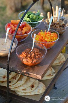 Outdoor Pizza Party Blackboxsummer Foods Etizers Dinner Parties