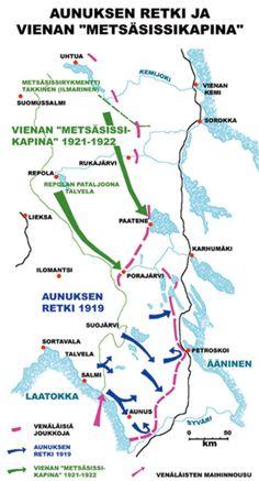 The Aunus Expedition of 1919