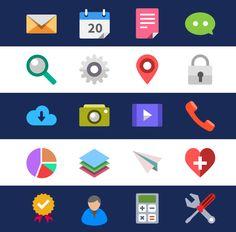 Flat icons / Flat design / ui / icons / #flat #icons