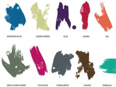 Pantone's 2013 colors for fall