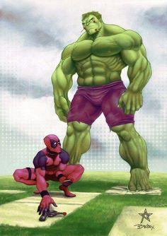 Deadpool&the hulk